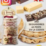 Torrons Vicens, artesanos turroneros con poco engagement en Instagram