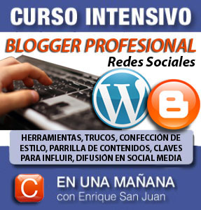 Curso-blogger profesional community internet social-media-enrique-san-juan-barcelona