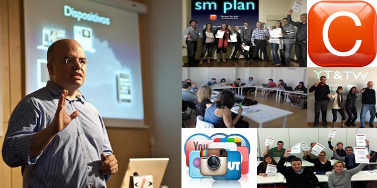 Cursos Redes Sociales Community Internet The Social Media Company Enrique San Juan Barcelona curso community manager