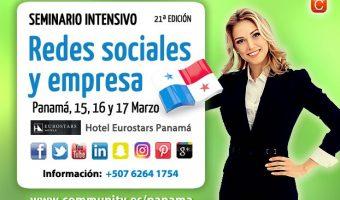 Llega a Panamá la 21ª edición del Seminario Redes Sociales y Empresa