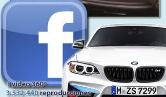 BMW experimenta con Facebook Video 360º