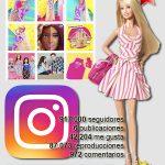 Barbie está de moda en Instagram