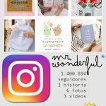 Mr. Wonderful comparte sus productos en Instagram Stories
