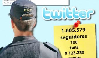 Policía Nacional domina el lenguaje de Twitter