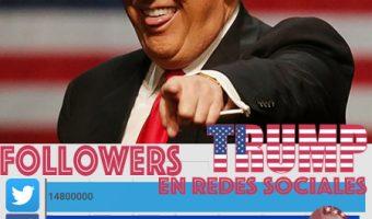 Los números de la campaña de Donald Trump en las redes sociales