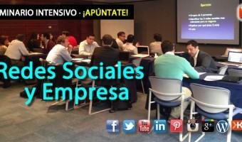 10 razones para participar en el Seminario Redes Sociales y Empresa